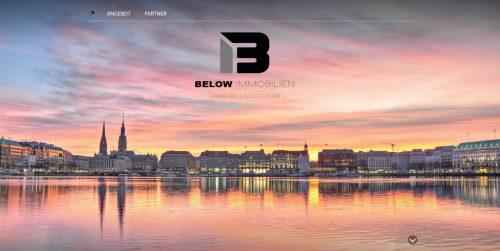 Below Immobilien - Homepages 4U - Creative Webdesign