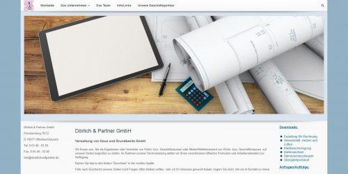 Dörlich & Partner GmbH - Homepages 4U - Creative Webdesign